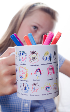 Printed mugs for Schools and PTA